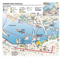 Louisville Map Top 10 Thunder Survival Tips