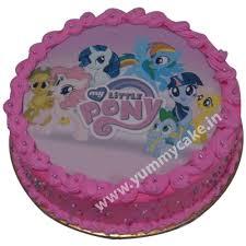 pony cake my pony cake for birthday 100 eggless free shipping