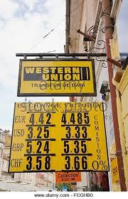 Western Union Money Transfer Bureau Stock Photos Western Union Bureau Western Union