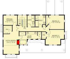 Nursery Floor Plans For The Front Sloping Lot 23060jd Architectural Designs