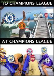 Chions League Memes - english clubs and uefa chions league soccer memes goal91