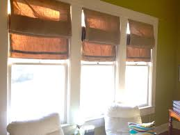 tips classic burlap roman shades for interior windows decor ideas