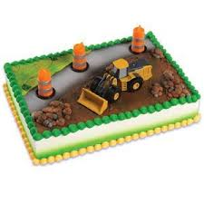 construction cake toppers deere construction cake topper decorating