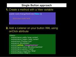 android studio button adding button click events in android studio