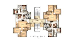 Antilla Floor Plan by Sandesh City Nagpur
