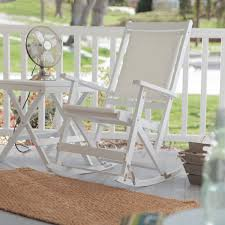 white resin outdoor patio rocking chair ideas to decorate porch
