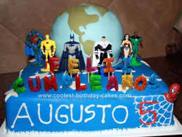 coolest superheroes protecting earth cake earth cake homemade