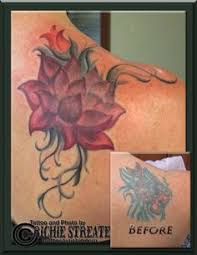 tattoo nightmares peacock cover up lotus flower cover up tattoo cover up tattoos by richie streate