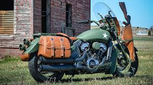custom scout military indian motorcycle
