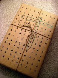 customized wrapping paper una envoltura muy original puedes formar las frases según tus