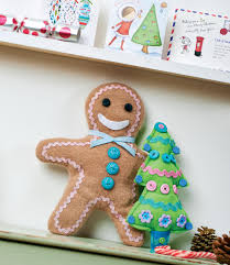 upcycled felt gingerbread man free sewing patterns sew magazine