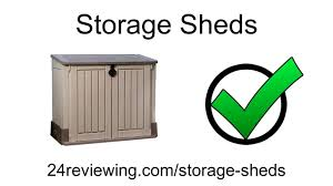 Suncast Horizontal Utility Shed Bms2500 by Best Storage Sheds Reviews 2016 Youtube