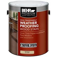 interior wood stain colors home depot behr premium 1 gal semi transparent weatherproofing wood stain