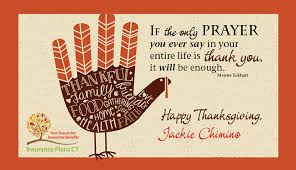 happy thanksgiving insurance plans ct