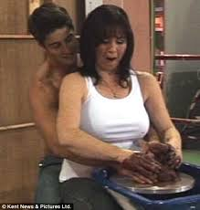 film ghost scene pottery loose woman coleen nolan reenacts steamy ghost pottery scene live on