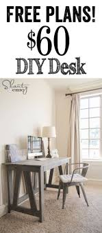 Cheap Diy Desk 15 Diy Computer Desks Tutorials For Your Home Office 2017