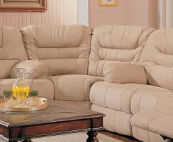 saddle fabric stylish modern reclining sectional sofa