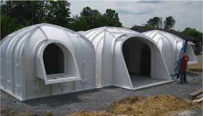 here u0027s the dirt on a prefabricated plastic earth sheltered home