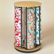 large rolls of christmas wrapping paper rack 5 roll vertical revolving paper cutter