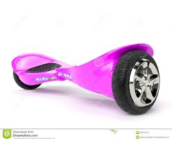 Pink Color Wheel by Pink Color Hoverboard On White Stock Illustration Image 68734312
