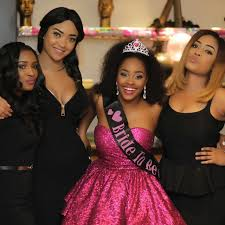 colour themes for nigerian wedding sandra s 50 shades of grey themed bachelorette party nigerian bride