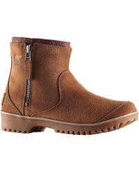 ugg s meadow boots ugg meadow sheepskin boots in black lyst
