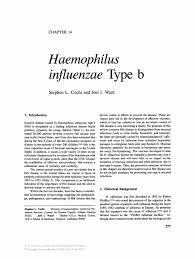 haemophilus influenzae type b springer