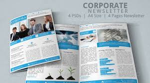 corporate newsletter vol3 u2013 premium template u2013 top newsletter template