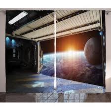 Outer Space Curtains Outer Space Curtains Wayfair