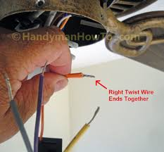 Hampton Bay Ceiling Fan Internal Wiring Diagram by How To Replace A Ceiling Fan Motor Capacitor