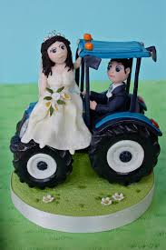tractor cake topper tractor wedding cake topper i made this a whi flickr