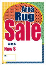 Area Rug On Sale Sale Tags Area Rug Sale Signs4retail