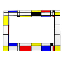 primary colors magnetic picture frames zazzle
