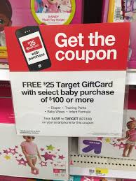 gift cards deals target hot diapers 12 31 per free wipes gift card deal