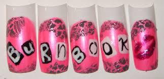 sharihearts mean girls nail art
