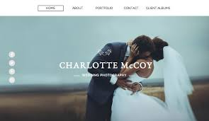 photographers websites photography website templates wix
