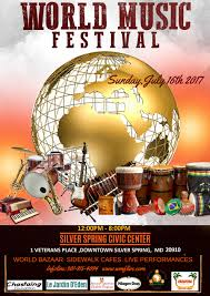 thanksgiving past dates world music festival at silver spring civic building at veterans