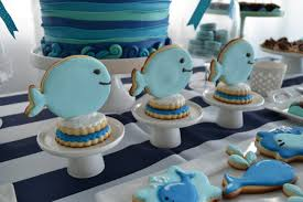 baby whale themed