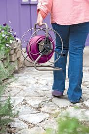 Wall Mount Garden Hose Reel by Hose Reel 2 In 1 Garden Hose Reel Gardeners Com
