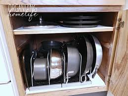 Pots And Pans Cabinet Rack Luxury Kitchen Organization Pots And Pans Cabinet 12 Kitchen