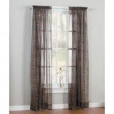 Zebra Curtain Panels Leopard Print Window Curtains Foter
