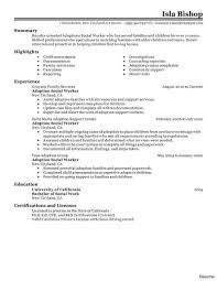 social worker resume exles hospice social worker resume sle work exle as image