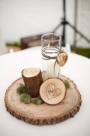 Log Centerpiece Ideas by Best 25 Rustic Centerpieces Ideas On Pinterest Country Wedding