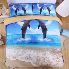 Beach Themed Bed Sheets Online Get Cheap Beach Comforter Sets Queen Aliexpress Com