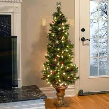 lowes artificial christmas trees with lights pre lit christmas tree spruce entrance green artificial tree with