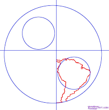 simple drawing of earth how to draw earth step by step outer