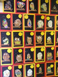 mrs ehle u0027s kindergarten connections owl art