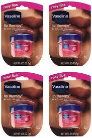 amazon com vaseline lip therapy rosy lips pack of 2 0 25 oz 7
