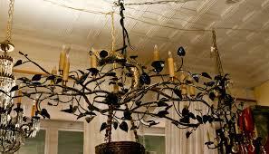 branch chandelier an original sculpture tree branch chandelier by lou blass at 1stdibs