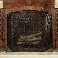 unique fireplace screen ideas amazing decorative fireplace screens home depot black rustic metal fireplace surround